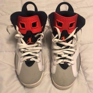 Jordan 6 Infrared Tinker Size 9.5 Preowned